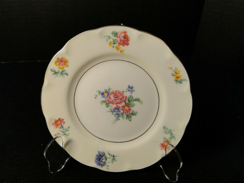Theodore Haviland NY Chapelle Bread Plate 6 1/4"
