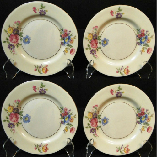 Theodore Haviland NY Pasadena Bread Plates 6 1/4 Set of 4 | DR Vintage Dinnerware Replacements
