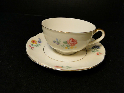 Theodore Haviland NY Chapelle Tea Cup Saucer Set | DR Vintage Dinnerware Replacements