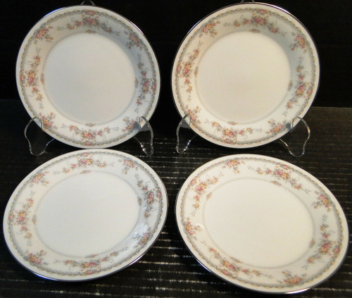 "Noritake Veranda Bread Plates 6 3/8"" 3015 Set of 4 