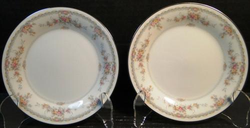 "Noritake Veranda Bread Plates 6 3/8"" 3015 Set of 2 | DR Vintage Dinnerware Replacements"