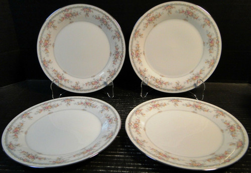 "Noritake Veranda Salad Plates 8 1/4"" 3015 Set of 4 