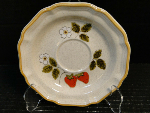 Mikasa Strawberry Festival Saucer EB 801 | DR Vintage Dinnerware Replacements