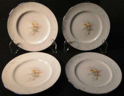 "Noritake Ireland Anticipation Bread Plates 6 1/4"" 2963 Set of 4 