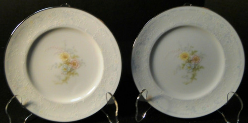 "Noritake Ireland Anticipation Bread Plates 6 1/4"" 2963 Set of 2 