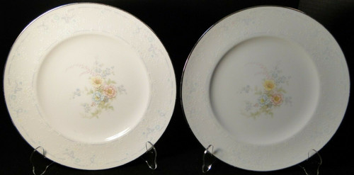 "Noritake Ireland Anticipation Dinner Plates 10 1/2"" 2963 Set of 2 