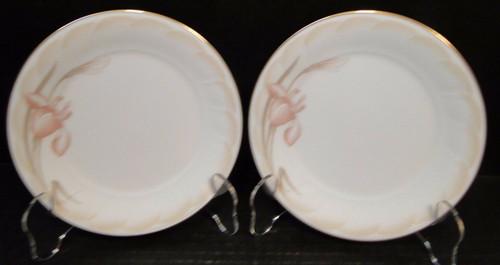 "Noritake Sonata Bread Plates 6 1/2"" 3360 Ireland Set of 2 | DR Vintage Dinnerware Replacements"