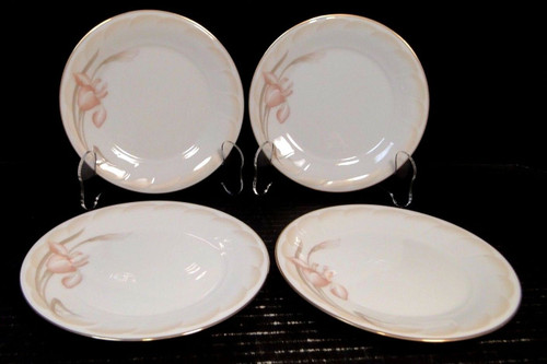 "Noritake Sonata Bread Plates 6 1/2"" 3360 Ireland Set of 4 | DR Vintage Dinnerware Replacements"