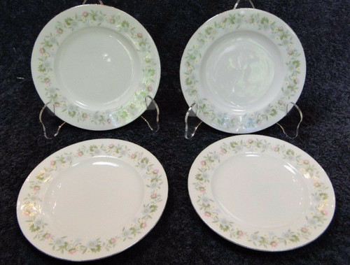 """Johann Haviland Bavaria Forever Spring Bread Plates 6"""" Set of 4    DR Vintage Dinnerware and Replacements"""