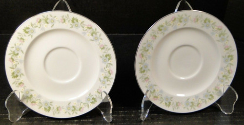 Johann Haviland Bavaria Forever Spring Saucers Set of 2 | DR Vintage Dinnerware and Replacements