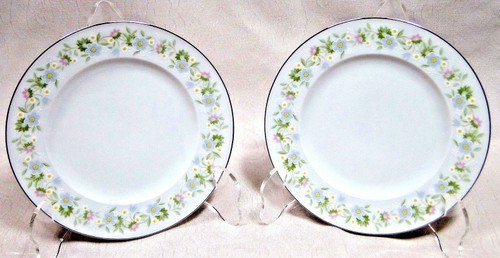 "Johann Haviland Bavaria Forever Spring Bread Plates 6"" Set of 2 