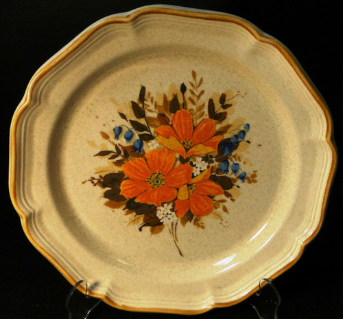 "Mikasa Flower Fest Dinner Plate 10 3/4"" EC 452 Garden Club 