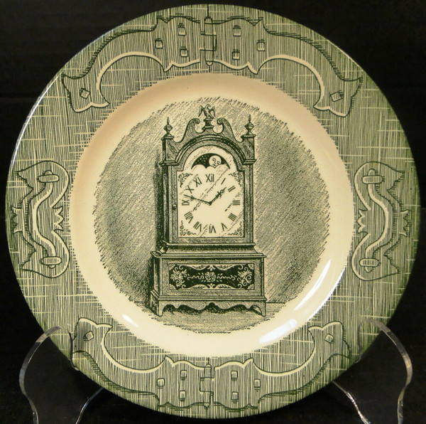 """Royal China The Old Curiosity Shop Bread Plate 6 1/4"""" 