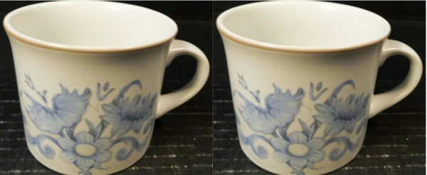 Royal Doulton Inspiration Cups LS 1016 Mugs Set of 2 | DR Vintage Dinnerware and Replacements
