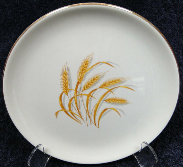 """Homer Laughlin Golden Wheat Salad Plate 7 1/4"""" 