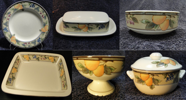 Garden Harvest Intaglio CAC29 | DR Vintage Dinnerware and Replacements
