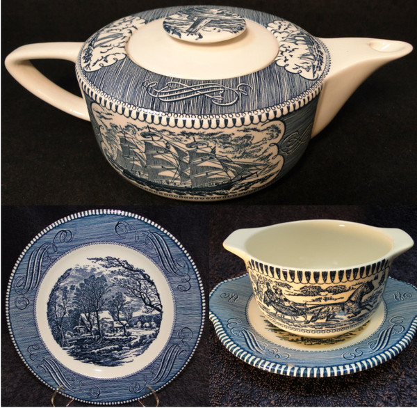 Royal China Currier & Ives | DR Vintage Dinnerware and Replacements