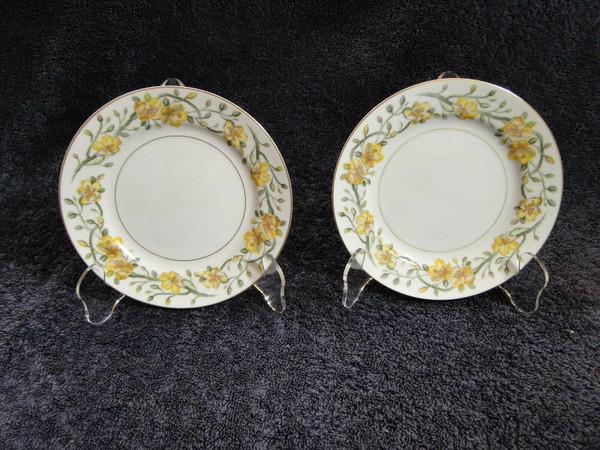 "Noritake Laveta Bread Plates 6 3/8"" (Set of 2) 