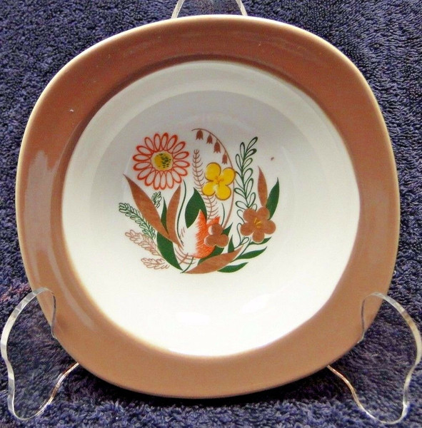 Taylor Smith Taylor Conversation Nassau Teague Berry Bowl 50's | DR Vintage Dinnerware and Replacements