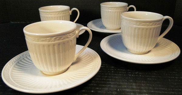 Mikasa Italian Countryside Tea Cup Mug Saucer Sets DD900 4 | DR Vintage Dinnerware and Replacements
