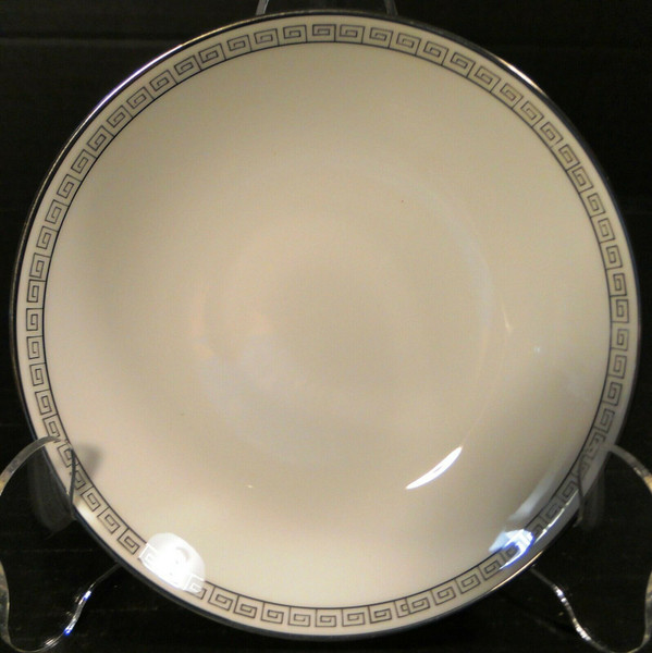 Noritake Silver Key Berry Bowl 5941 Fruit Dessert | DR Vintage Dinnerware and Replacements