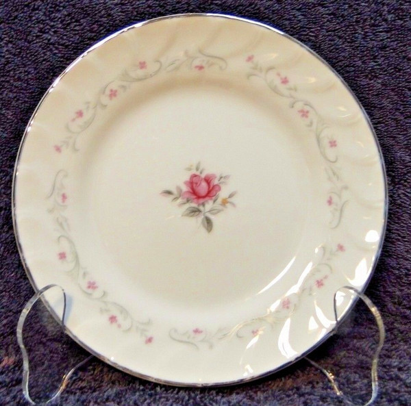 Fine China of Japan Royal Swirl Bread Plate | DR Vintage Dinnerware Replacements