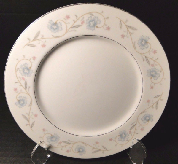 """Fine China of Japan English Garden 1221 Bread Plate 6 1/4"""" 