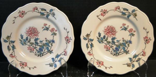 "Syracuse Summerdale Dessert Plates 7"" Vintage Restaurant Ware Set of 2   DR Vintage Dinnerware and Replacements"