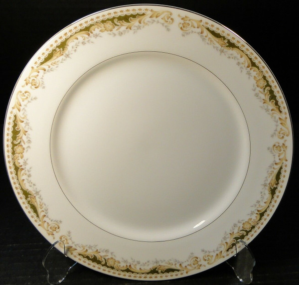 "Signature Collection Queen Anne Dinner Plate 10 1/4"" Excellent"
