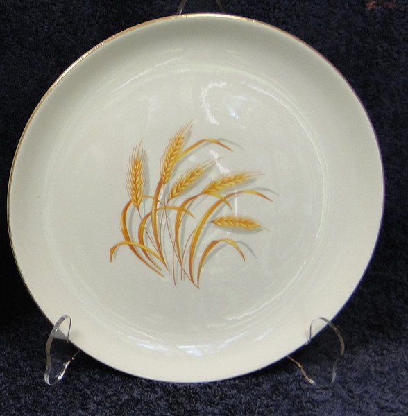 Homer Laughlin Golden Wheat Dinner Plate 9 1/4"