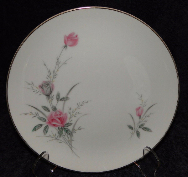 Fine China of Japan Golden Rose Salad Plate   DR Vintage Dinnerware and Replacements