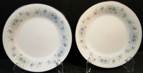 """Noritake Inverness Salad Plates 8 1/4"""" 6716 Set of 2 