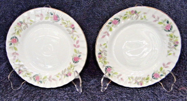 Creative Regency Rose Bread Plates 2345 Set of 2 | DR Vintage Dinnerware and Replacements