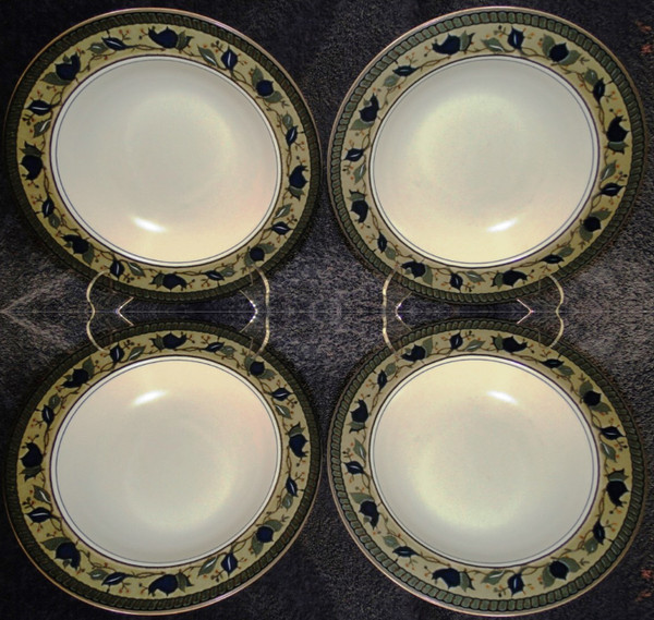 Mikasa Intaglio Arabella Soup Bowls Pasta Salad CAC01   DR Vintage Dinnerware Replacements