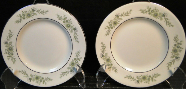 "Wedgwood Westbury Bread Plates 6"" Set of 2 