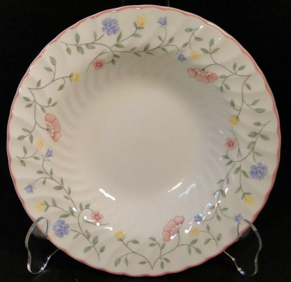 Johnson Brothers Summer Chintz Rimmed Soup Bowls | DR Vintage Dinnerware Replacements