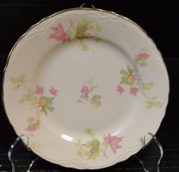 """Homer Laughlin Maple Leaf Bread Plate 6 1/4"""" Republic R9524 