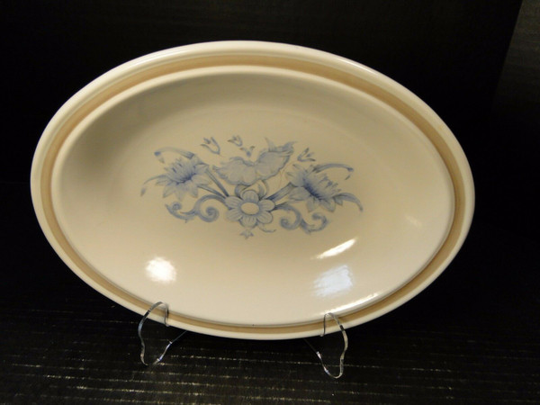"""Royal Doulton Inspiration Oval Serving Bowl 10 1/2"""" LS1016   DR Vintage Dinnerware Replacements"""