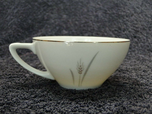 Fine China of Japan Platinum Wheat Tea Cup | DR Vintage Dinnerware Replacements