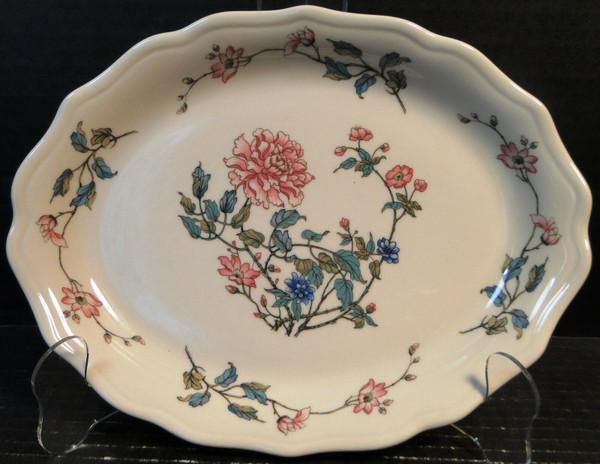 "Syracuse Summerdale Platter 10"" Vintage Restaurant Ware | DR Vintage Dinnerware Replacements"