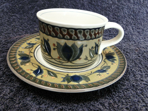 Mikasa Intaglio Arabella Coffee Cup Mug Saucer Set CAC01 | DR Vintage Dinnerware Replacements