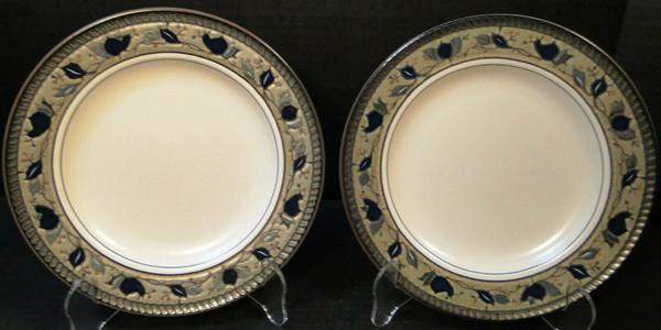 "Mikasa Arabella Salad Plates 8 3/8"" CAC01 Intaglio | DR Vintage Dinnerware Replacements"