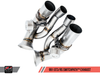 AWE SwitchPath™ Exhaust for Porsche 991 (15-19) GT3 / RS - Diamond Black Tips