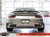 AWE Performance Exhaust and High-Flow Cat Sections for Porsche 991 Turbo - Stock Tips