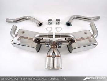 AWE Performance Muffler for Porsche 987 (05-12) Cayman/S, Boxster/S