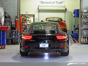 AWE SwitchPath™ Exhaust for Porsche 991 (12-16) - PSE cars - No Tips