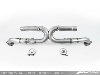 AWE Performance Exhaust for 991 (12-16) Carrera - Diamond Black Tips