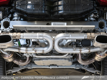 AWE Performance Exhaust for 991 (12-16) Carrera - Use Stock Tips
