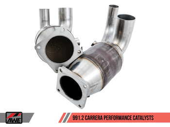 AWE Performance Catalysts for Porsche 991.2 (17-19) 3.0L - PSE Only