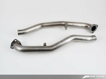 AWE Performance Cross Over Pipes for Porsche 997.2 (09-12) Carrera / S / GTS